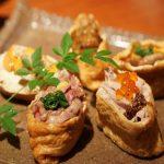 恵比寿にある使い勝手抜群の寿司居酒屋『あげまき』フォトジェニックな創作いなり寿司が最高!